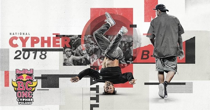 Red Bull BC One Cypher Poland 2018 poster