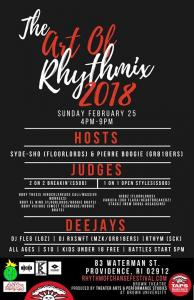 The Art of Rhythmix 2018