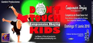 DON´T TOUCH KIDS 2018