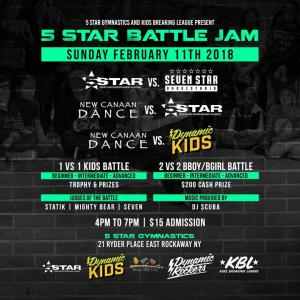 5 Star Battle Jam 2018