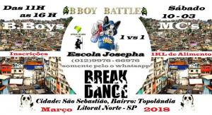 B.Boy Battle Mundial 2018