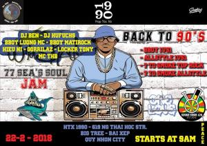 77 Sea's Soul Jam : BACK to 90's