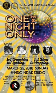 ONE NIGHT ONLY 2