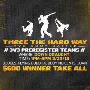 3 The Hard Way 2018