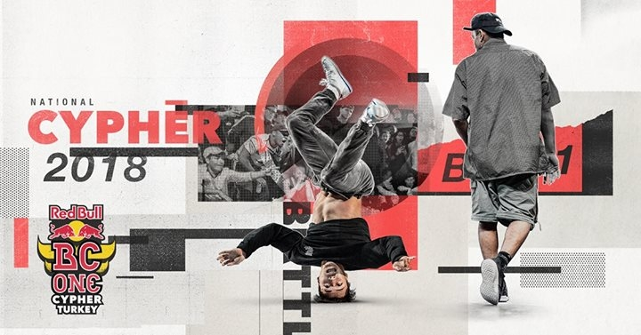 Red Bull BC One Turkey Cypher 2018 poster