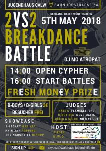Breakdance Battle 2018