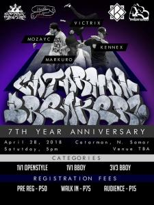 CB crew 7th year Anniversary Jam 2018