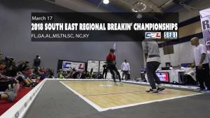 South East Regional Breakin' Championships 2018