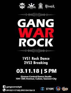 Gang War Rock 2018