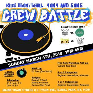 Kids Crew Battle 2018