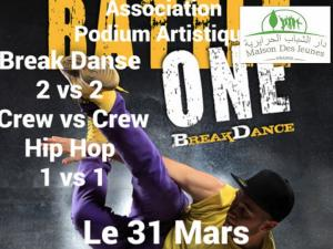 Battel Break Danse Hip Hop -%№_