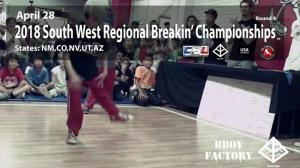 CBL - South West Regional Breakin' Championship 2018