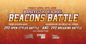 Roosevelt High School Beacons Battle 2018