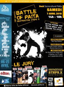 Battle of Païta / Destructive Steps Nc 2018