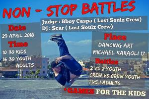 Non Stop Battles - The Golden Month 2018