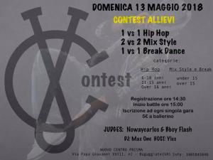 Contest Allievi Freestyle 2018