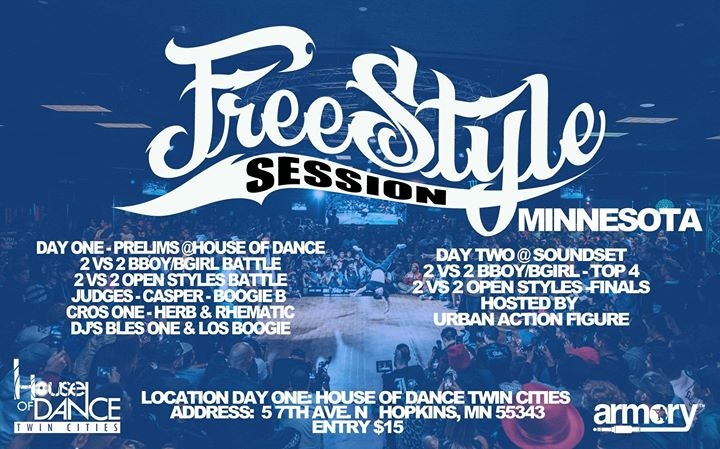 Freestyle Session Minnesota 2018 poster