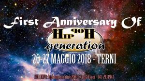 First Anniversary Of Hip Hop Generation 2018
