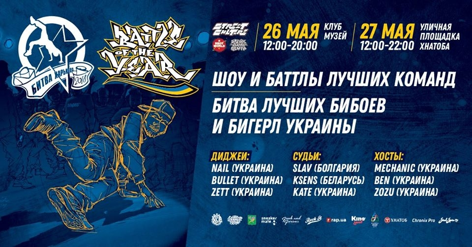 Battle Of The Year Ukraine 2018 poster