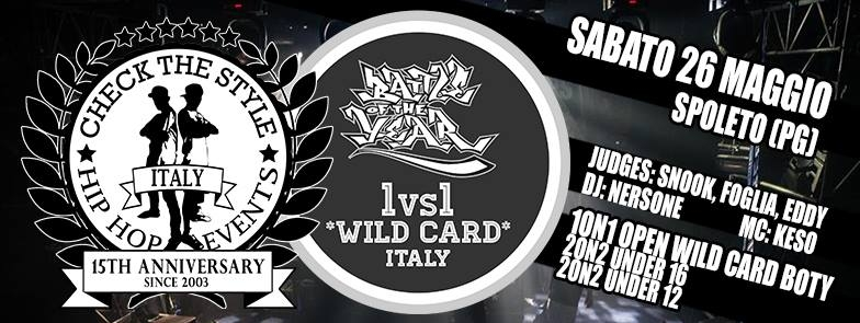 Battle Of The Year Italy Wild Card 2018 poster