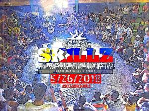 Skillz International Bboy Festival Philippines 2018
