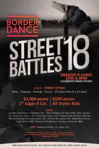 Border Dance Street Battles 2018