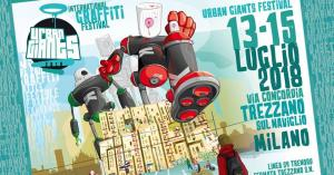 Urban Giants Graffiti Festival Milano 2018