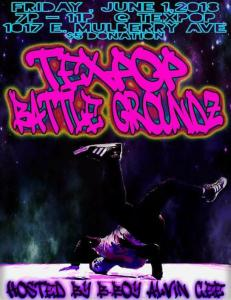Texpop Battle Groundz With Alvin Cee 2018