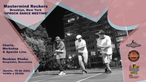 UpRock Dance Meeting - Master Mind Rockers (Nyc) - Barcelona 2018