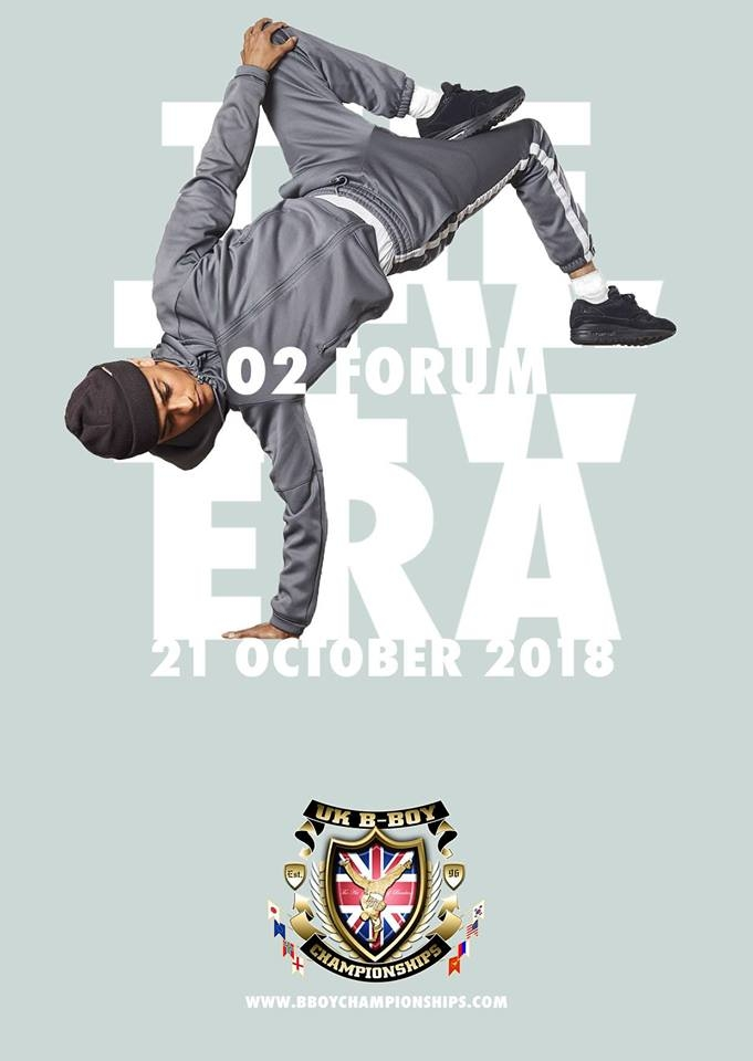 UK BBOY Championships - Qualifiers - O2 Forum Kentish Town 2018 poster