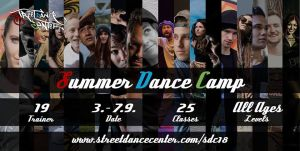 Streetdance Center Summer Dance Camp 2018