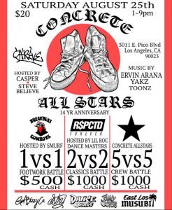 Concrete All Stars 14 Year Anniversary 2018