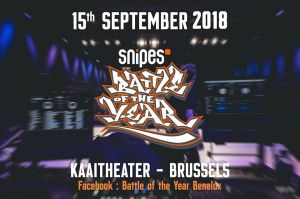 Snipes Battle of the Year Benelux 2018