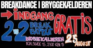 Breakdance In The Bryggekaelderen 2018