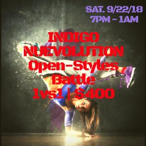 Indigo Nuevolution Open-Styles Battle 2018