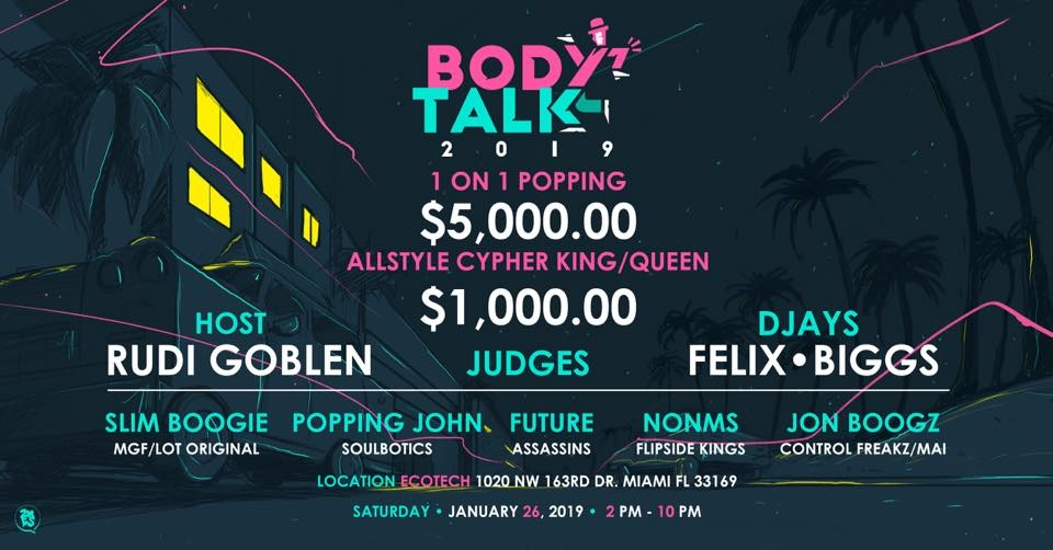 Body Talk 2019 At Bboyeventcom