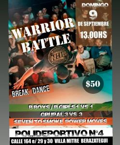 Warrior Battle 2018
