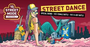 Street Dance at 10th Street Mode Festival 2018