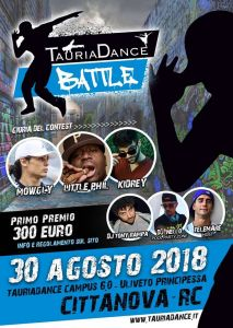 TauriaDance Battle 2018