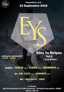 Earn Ya Stripes 2018