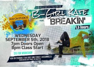 Breakin' Workshop with B-Girl Kate 2018