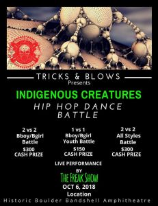 Indigenous Creatures Hip Hop Dance Battle 2018