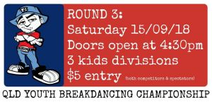 QLD Youth Breakdancing Championship 2018