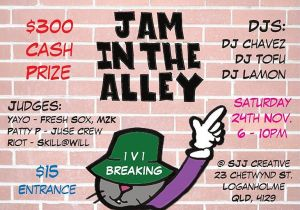 Jam In The Alley 2018