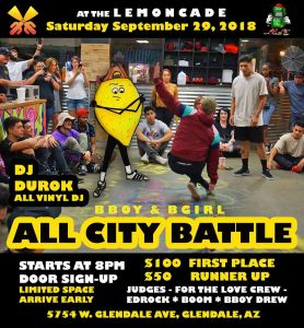 All City BBOY BGIRL Battle 2018