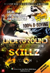 Underground Skillz Battle 2018