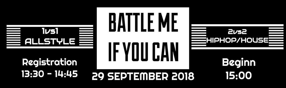 Battle Me if You can Hamburg Edition 2018 poster