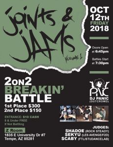 Joints & Jams 2018