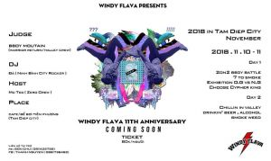 Windy Flava 11th Anniversary 2018