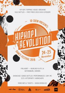 Hiphop Revolution Dance Festival 2018